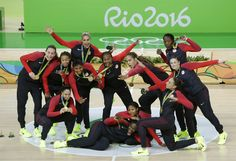 Olympic Games 2016: U.S. Women Are The Biggest Winners In Rio : The Torch : NPR #Olympics