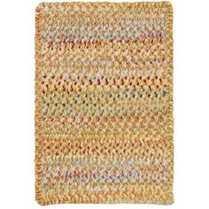 "Capel Ocracoke Amber Area Rug Rug Size: Oval 2'3"" x 4'"