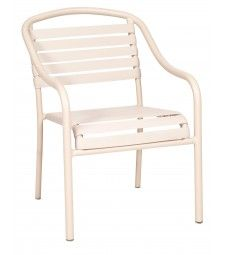 Baja Strap Dining Arm Chair - Stackable