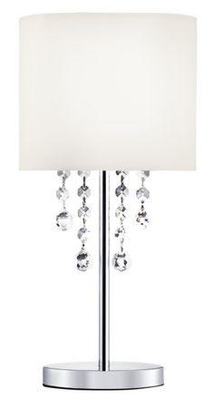 Stolní lampa SEARCHLIGHT SL 2051CC | Uni-Svitidla.cz Moderní pokojová #lampička vhodná jako doplňkové osvětlení domácnosti či kanceláře #modern, #lamp, #table, #light, #lampa, #lampy, #lampičky, #stolní, #stolnílampy, #room, #bathroom, #livingroom