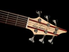 Bruno Traverso Guitars - Slender Bass Headstock 6