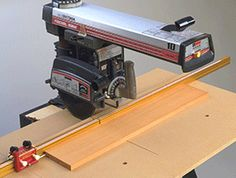 incra with radial arm saw
