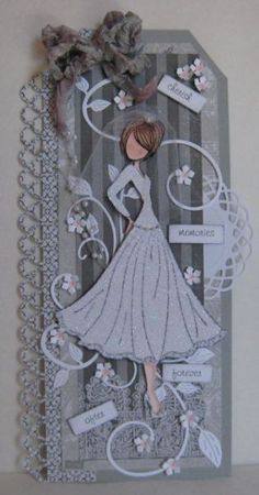 Bridal Tag by Sweet Irene - Cards and Paper Crafts at Splitcoaststampers