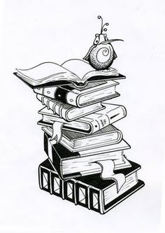 Something like this for my book tattoo