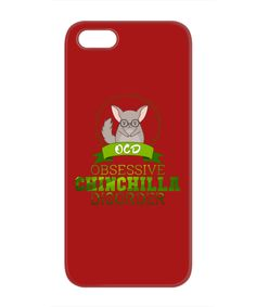 Obsessive Chinchilla Disorder iPhone 5/5S Case - Satisfy your chinchilla obsession with this adorable iPhone case.