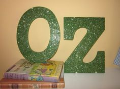 Wizard of Oz Party Decor OZ Wooden Letters by KeepCalmAndPartyOn, $24.00