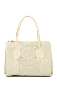 Addison Small  Leather Tote by Merci Marie Handbags on @HauteLook