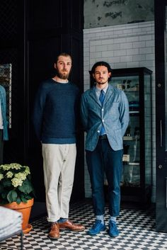 Street style photographer Jonathan Daniel Pryce (aka Garcon Jon), shoots the best-dressed men working on Henrietta street - London's latest, greatest menswear strip.