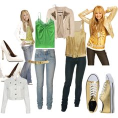 hannah montana concert outfits - Google Search