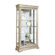 Found it at Wayfair - Pulaski Furniture Lyon Curio Cabinet