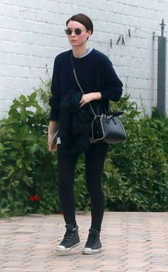 Rooney Mara from The Big Picture: Today's Hot Photos  The actress keeps it casual whileleaving a spa in West Hollywood.