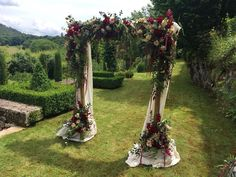 A Beautiful archway for an outdoor ceremony, this was one of M and C's favourites last week! Outdoor Weddings, Outdoor Ceremony, Wedding Color Combinations, Alters, Some Pictures, Wedding Colors, Ladder Decor, Arch, Dream Wedding