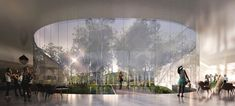 Canadian Canoe Museum Reveals Shortlisted Designs,Courtesy of The Canadian Canoe Museum