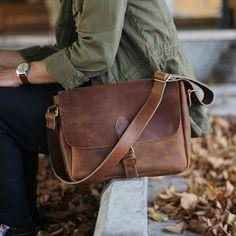 Leather Postman Bag, Messenger Bags, Shoulder Bag