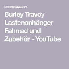 Burley Travoy Lastenanhänger Fahrrad und Zubehör - YouTube
