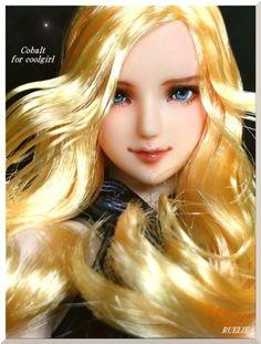 "● RUELIE ● 1/6 custom doll head ● cobalt for Cool Girl / [Buyee] ""Buyee"" Japan Shopping Service | Buy from Yahoo! Buy from Japan!"