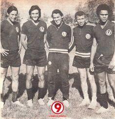 Oswaldo 'Cachito' Ramirez, Percy 'Trucha' Rojas, Hector Bailetti, Lucho Cruzado y JJ Muñante...