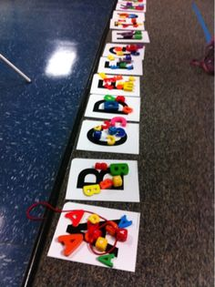 Letter MAtch     More Than ABC's and 123's: Preschool skills