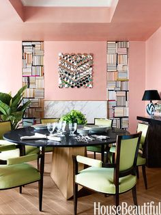 Home decor ideas paint colors interior design decorating and summer best color schemes designer trends for Best Color Schemes, Bedroom Color Schemes, Mindful Gray, Living Room Small, Rooms Ideas, Pink Paint Colors, Dining Room Colors, Dining Rooms, Dining Area