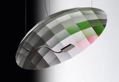 Ingo Maurer Lunatic LED Pendant Lamp.