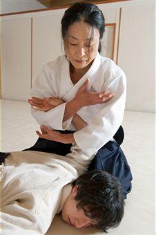 Aikido Kyoto - Okamoto Yoko Shihan, 6th Dan
