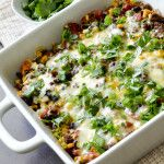 THE BEST MEXICAN BEEF CASSEROLE EVER
