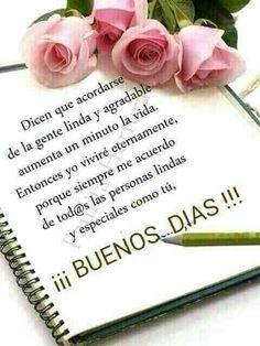 Photo http://enviarpostales.net/imagenes/photo-1020/ Saludos de Buenos Días Mensaje Positivo Buenos Días Para Ti Buenos Dias
