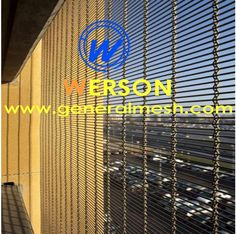 generalmesh Wire mesh facade cladding , Architectural Wire Mesh cladding , Sun Protection with Architectural Mesh for Solar management, Parking facades, Walls Ceilings, Safety and security , partitions --- Hebei general metal netting Co.,ltd --- China leading factory. Email: sales@generalmesh.com Skype: jennis01 Wechat:13722823064 Whatsapp:+8613722823064 Viber :+8613722823064