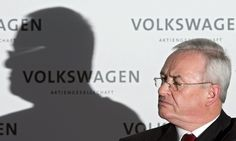 Winterkorn, chief executive since 2007, to leave embattled carmaker after company admits 'we totally screwed up'