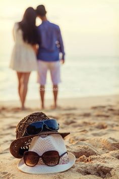 Pre Wedding photo session at one of the famous sunset beach in Bali called Tegal Wangi