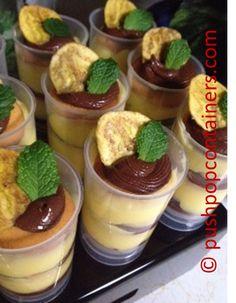 #Banana #PushupPops with #chocolate-peanut-butter,vanilla pudding and Nilla Wafers