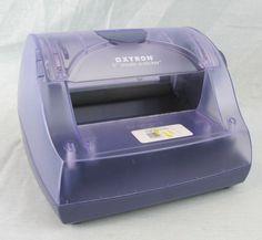 """Xyron 5"""" Create-a-Sticker Dispenser Maker Machine Purple Paper Crafts Scrapbook"""