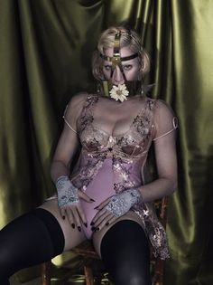 Madonna by Mert & Marcus for Interview
