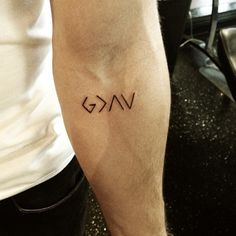 God is greater than the highs and lows.
