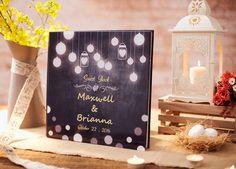 Hochzeit Gast Buch Alternative rustikale von WeddingTreeGuestbook