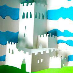 pop-up castle