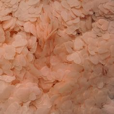 Biodegradable blush pink tissue paper confetti hearts. Available on eBay (seller: qualityconfetti) and at www.qualityconfetti.co.uk