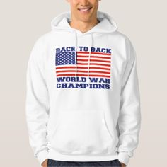 Back to back world war champions hoodie  $51.50  by Jawiqonata  - cyo diy customize personalize unique