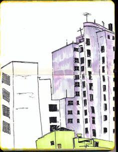 Da janela do Estúdio.CACHECOL DE COBRA