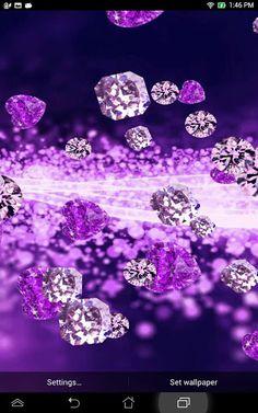 Purple Diamond Live Wallpaper Download - Purple Diamond Live ...