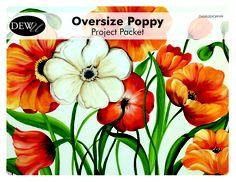 NEW Oversize Poppy www.onestroke.com