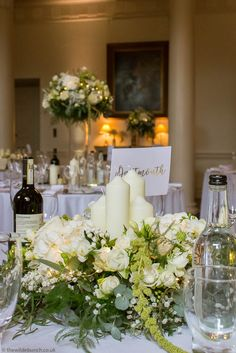 Wedding Flowers Bristol - The Wilde Bunch Wedding Florist All Design, Floral Design, Country House Wedding Venues, London Bride, Beautiful Table Settings, May Weddings, Designs To Draw, Wedding Events, High Low