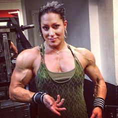 This site is a community effort to recognize the hard work of female athletes, fitness models, and bodybuilders. Bodybuilder, Muscular Women, Muscle Girls, Workout, Female Athletes, Strong Women, Goddesses, Physique, Fitness Models
