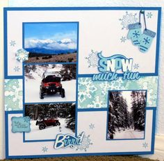 MFTScrap1 Snow Much Fun by Jill by **JILL** - Cards and Paper Crafts at Splitcoaststampers