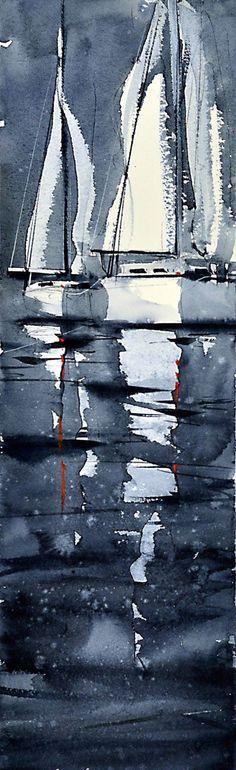 澳大利亚水彩画家 Anders Andersson 水彩作品