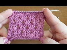 Cum tricotam model simplu si usor pentru caciuli si fulare. Model 5 - YouTube