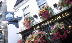 Best pubs in London ... The Mayflower pub, Rotherhithe, London. Photograph: Nicholas Bailey/Rex Features