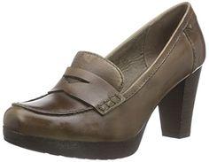 Alta Calidad 224 687, Chaussures à talons avec plateau femme