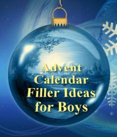 25 advent calendar filler ideas and inspiration for boys.