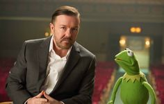 """The first teaser trailer for """"Muppets Most Wanted"""" is here with a peek at the latest shenanigans that will include Ricky Gervais, Ty Burrell, and Tina Fey."""